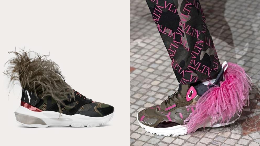 Este calzado deportivo con plumas está arrasando en ventas