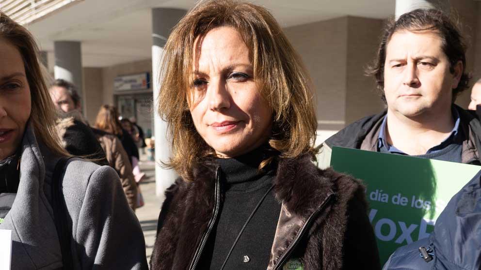 La diputada de Vox Reyes Romero. Foto: Europa Press
