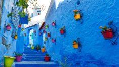 ¿Por qué el pueblo de Chefchaouen es de color azul