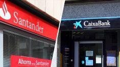 Santander y Caixabank