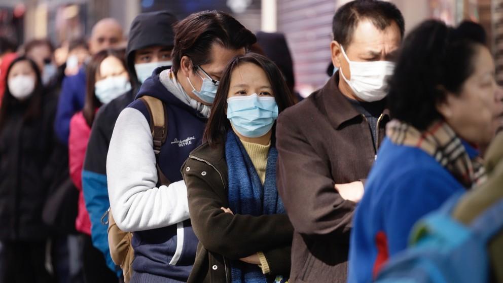 Brote de coronavirus en China. Foto EP