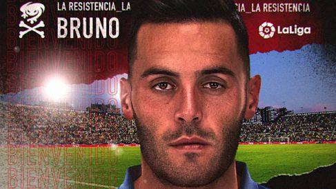 Bruno González, nuevo fichaje del Levante. (Levante Unión Deportiva)