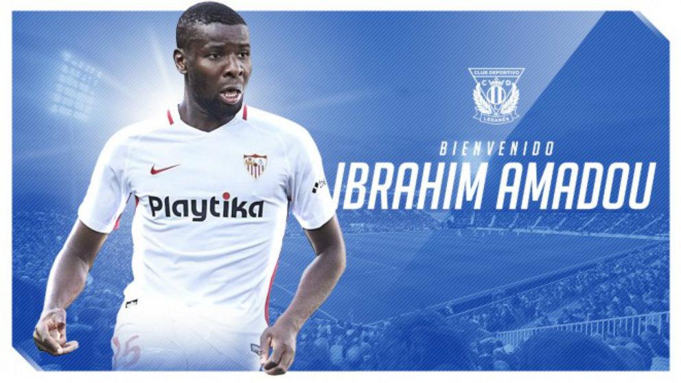 Ibrahim Amadou, nuevo fichaje del Leganés. (Club Deportivo Leganés)