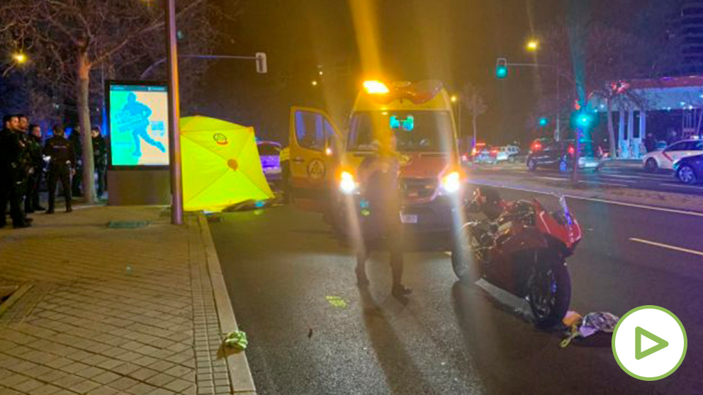 Emergencias no pudo hacer nada por la niña atropellada de Madrid. (Foto: Emergencias Madrid Twitter)