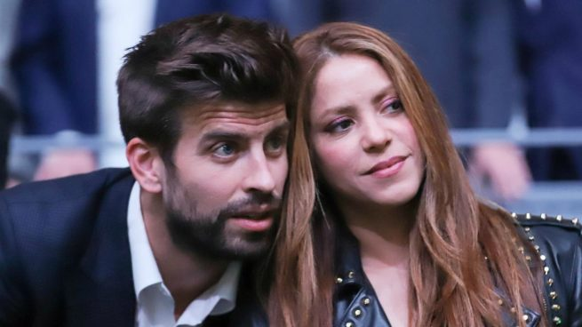 Piqué y Shakira, en una imagen de archivo.
