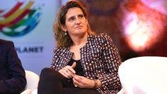 La vicepresidenta de Transición Ecológica. (Foto: Europa Press)