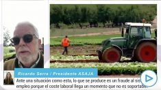 Ricardo Serra, presidente de Asaja
