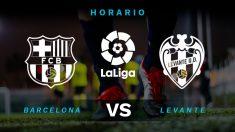 Barcelona – Levante: jornada 22 de la Liga Santander.