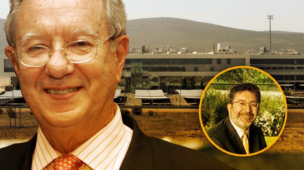 El ex embajador español en Venezuela Raúl Morodo (izquierda) y su apoderado y asesor fiscal, José Manuel González Porro.