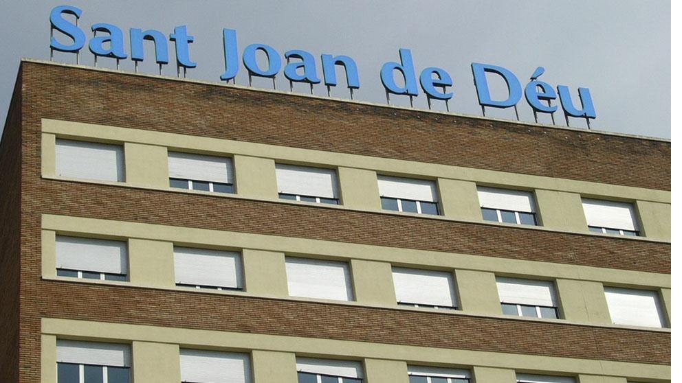 Hospital Sant Joan de Déu, donde estaba el niño al que se ha analizado por sospechas de coronavirus. (Ep)