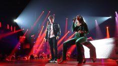 Nia y Gérard en la Gala 3 de 'OT 2020'