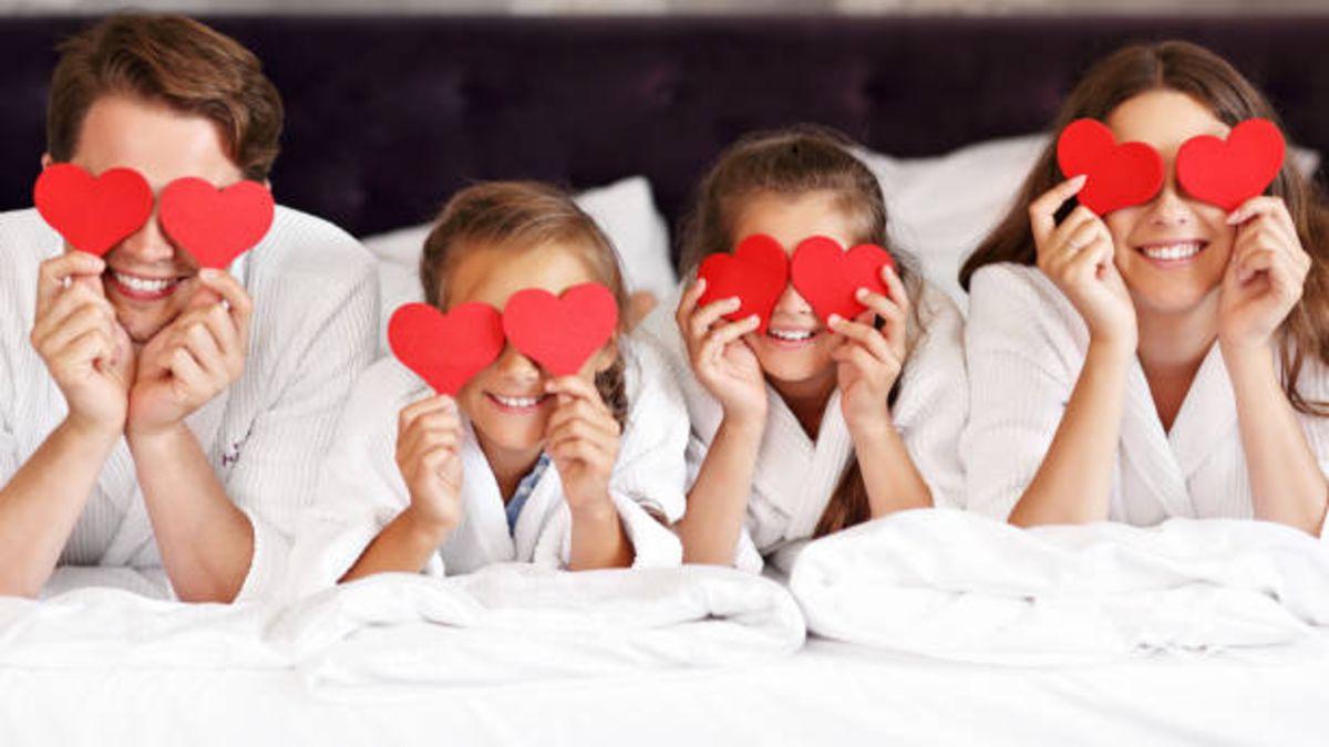 Distintos planes e ideas para celebra el Día de San Valentín con los niños