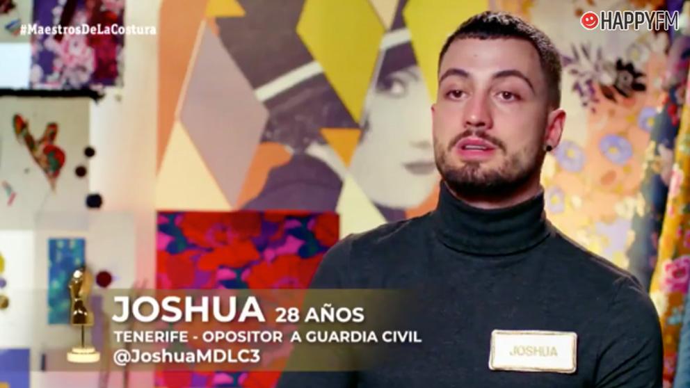 Joshua en 'Maestros de la costura'