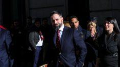 Santiago Abascal en el Congreso de los Diputados. Foto: EFE