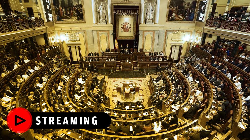 Sesión de control al Gobierno en el Congreso de los Diputados