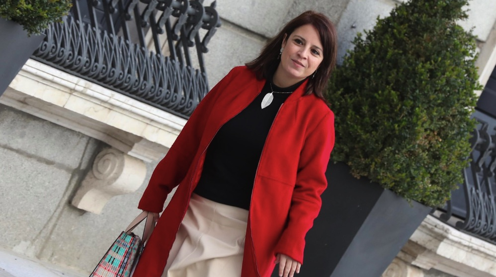 Adriana Lastra. (Foto. PSOE)