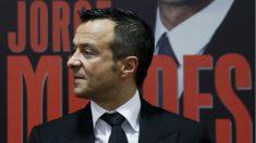 Jorge Mendes, en la presentación de su biografía. (AFP)