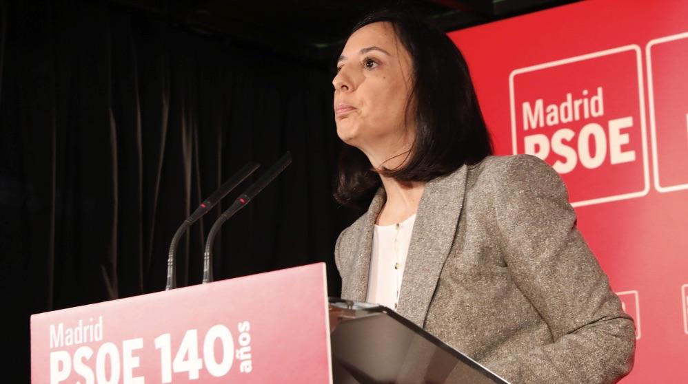La delegada del Gobierno en Madrid, Mercedes González.