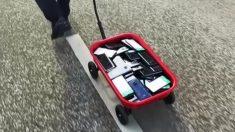 Un alemán hackea Google Maps con una carretilla y muchos teléfonos