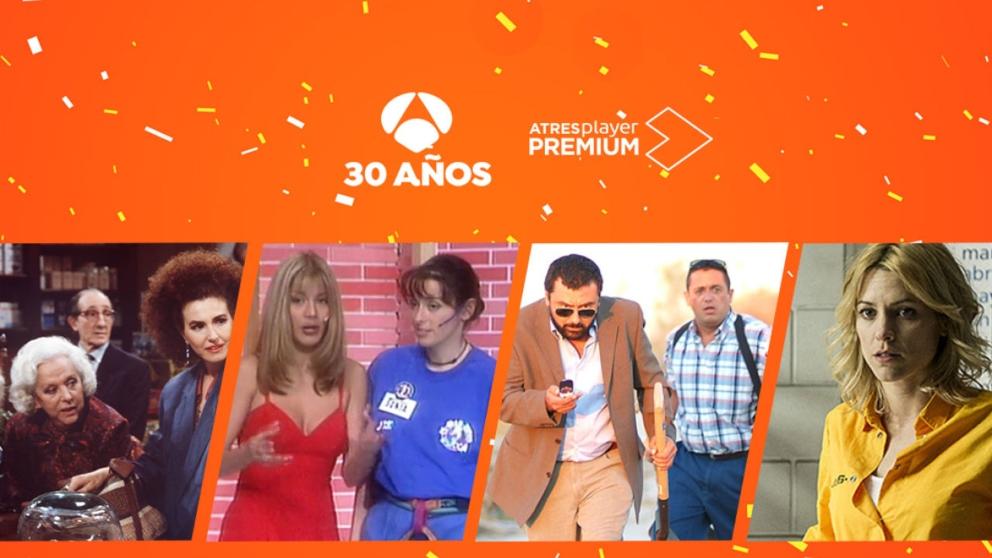 Antena 3 cumple 30 años