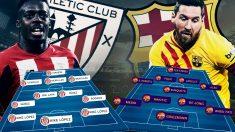Athletic y Barcelona se enfrentan en San Mamés.