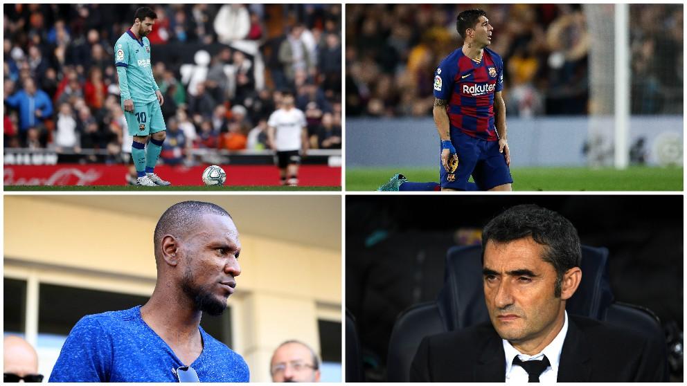 Comienzo de año negro en Can Barça.