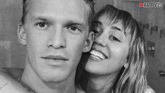Miley Cyrus y Cody Simpson, en ropa interior