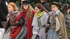 Florence Pugh, Saoirse Ronan, Emma Watson y Eliza Scanlen protagonizan esta revisión del clásico 'Mujercitas', con el que su directora Greta Gerwig vuelve a llegar hasta los Oscar.