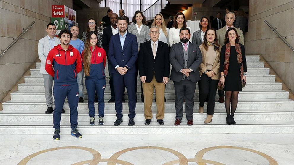 Presentación de «Todos olímpicos» y «Héroes olímpicos».