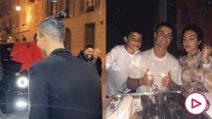 Cristiano Ronaldo recibió por su cumpleaños un coche de lujo (Instagram)