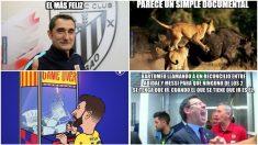 Algunos de los memes del Athletic – Barcelona de Copa del Rey.