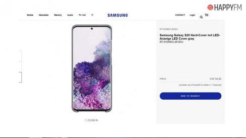 Samsung Galaxy S20: Filtrado precio del nuevo rival del iPhone