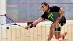 Cristina Gómez, una de las grandes promesas del Squash español tras haber sido campeona de Europa Sub-19.
