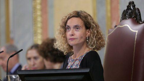 La presidenta del Congreso, la socialista Meritxell Batet. (Foto: EP)