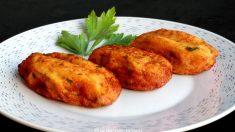 Receta de Croquetas de patatas al curry