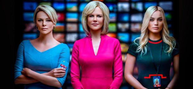 Charlize Theron, Nicole Kidman y Margot Robbie en 'El Escándalo'