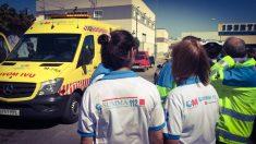 Accidente en Getafe. (Foto: Emergencias Madrid)