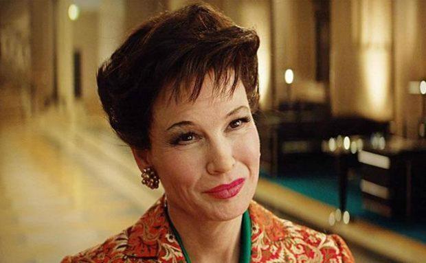 Renée Zellweger caracterizada como Judy Garland en 'Judy'