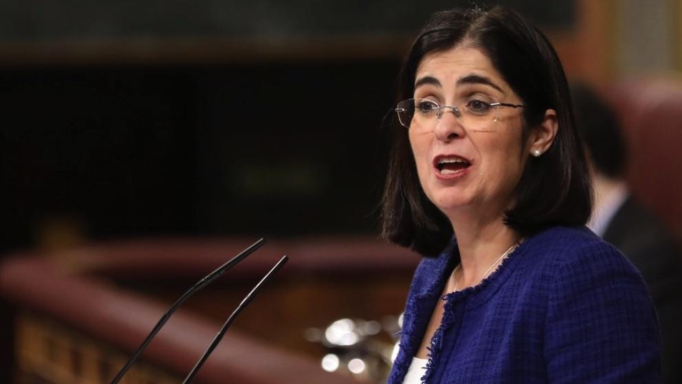 La ministra de Sanidad, Carolina Darias. (Foto. PSOE)
