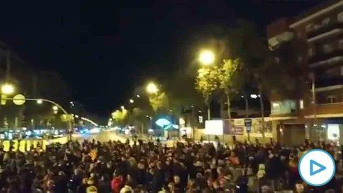 Los CDR llevan más de 100 días cortando la Meridiana de Barcelona para protestar contra la sentencia del 1-O en el Supremo.