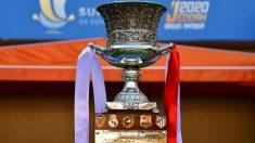 Athletic, Granada, Mirandés y Real Sociedad, dos de ellos jugarán la Supercopa de España. (EFE)
