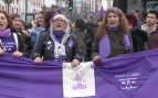Aquelarre feminista en Madrid.