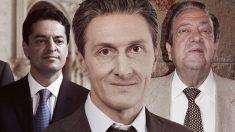 Enrique Bañuelos, Alexander Chistyakov (presidente de la petrolera rusa Ruspetro) y el empresario granadino Nicolás Osuna.