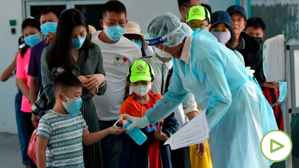 Protocolo de actuación para la no propagación del coronavirus. Foto: EP