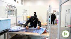 Hospital en Wuhan para luchar contra el coronavirus. Foto: Europa Press.