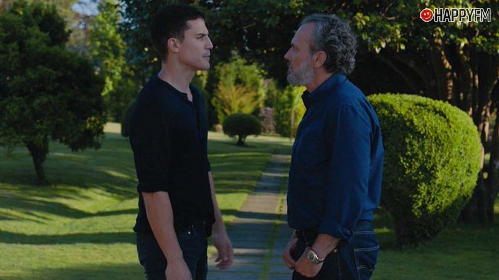 Álex Gonzalez y José Coronado en 'Vivir sin permiso'