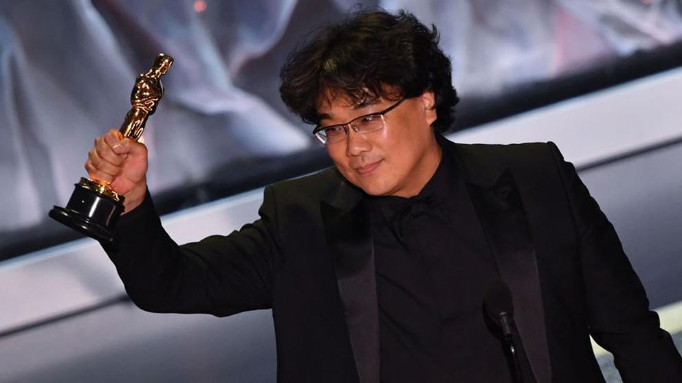 El director coreano Boon Joon Ho se alzó con el Oscar a mejor director pr su película 'Parásitos'
