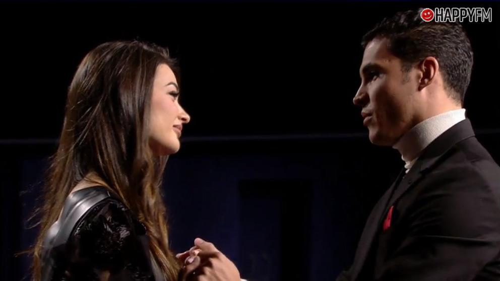 Estela y Kiko en 'El tiempo del descuento'