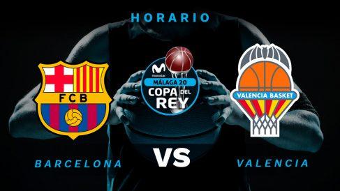 Copa del Rey de baloncesto 2020: Barça – Valencia Basket | Horario del partido de Copa del Rey de baloncesto.