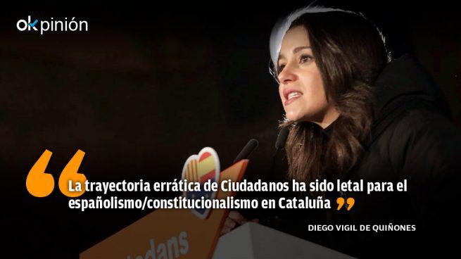 Ciudadanos no suma, Cataluña no suma